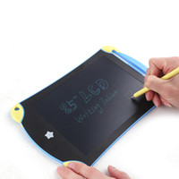 Wholesale Lcd Graphic - 8.5 Inch Frog Handwriting Tablet Cute Board LCD Writing Tablet Graphic Drawing Board Digital Portable Durable for Kids New 2107447