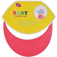 детский шампунь оптовых-1 шт. Ева мягкий младенческой Baby Care ванна защиты Baby безопасности шампунь Cap Бесплатная доставка 375*325*3 мм