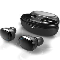 Wholesale mini wireless bluetooth stereo headphones resale online - T12 TWS Bluetooth Earphone Mini Twins Bluetooth Sport Headphone In Ear Earphones Headset Double Wireless Earbuds Cordless With Charging