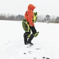 Wholesale padded hips - Universal Buttocks Pads For Adults Children Presaling Hip Padded Green Turtle Skiing Skating Protective Gear Factory Direct Sale 80ts X