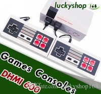 Wholesale camera console - 5X Coolbaby HD HDMI Out Retro Classic Game TV Video Handheld Console Entertainment System Classic Games For NES Mini Game F JY