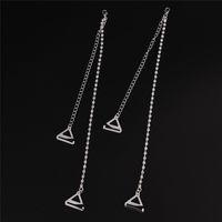 bretelles en strass achat en gros de-2 Pcs / paire Bra Straps 2 Rangées Cristal Magnifique Prom Diamante Strass Bretelles Ceinture Réglable Sparkle Épaule Sangle