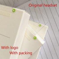 câble de pomme oem achat en gros de-OEM d'origine A ++++ qualité 3.5mm jack casque dans l'oreille des écouteurs avec télécommande et micro pour i5 6 plus avec un nouvel emballage écouteur