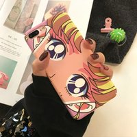 Wholesale iphone cases sailor resale online - For Iphone Phone Cases Sailor Moon Cute Cartoon Frosted Feel Environmental Protection PC Cell Phone Case For Iphone X Plus