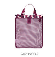 Wholesale lady s handbags for sale - Group buy Summer Swimming Lady Reseau Mesh Packet Sandy Beach Travel Shopping Storage Net Wash Bag Motion Handbag ph bb