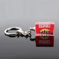 Wholesale keyring guns resale online - Red Dead Redemption Letter Keychain D Gun Model Keyring Holder Fashion Chaveiro Men Car Bag Sleutelhanger llaveros Jewelry