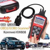 Wholesale Actron Reader - Hot Sale KW808 OBDII  EOBD Code Reader Auto Code Scanner US Asian European Vehicles Work for ALL Cars