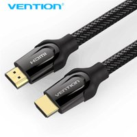 Wholesale Laptops Hd - Vention HDMI Cable HDMI 2.0 4k 3D 60FPS Cable for HD TV LCD Laptop PS3 Projector Computer 0.75m 1m 1.5m 2m 3m