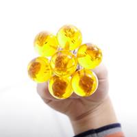 Wholesale Dragon Boys Rings - Anime Goku Dragon Ball Super Keychain 3D 1-7 Stars Cosplay Crystal Ball Key chain Collection Toy Gift key Ring