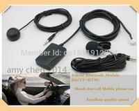 freie handzelle großhandel-Yatour Bluetooth Freisprecheinrichtung Car Kit (YT-BTM) + Fernbedienung (YT-REMO) -Hands frei Handy Handy Auto Versand