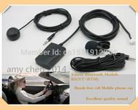 мобильный телефон hands-free автомобильный комплект оптовых-Yatour Bluetooth Hands Free module car kit(YT-BTM)+пульт дистанционного управления(YT-REMO)-Hands free мобильный телефон доставка автомобилей