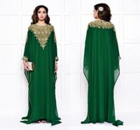 jackets sleeve for prom dresses NZ - 2019 Arabic Fashion Evening Dresses For Muslim Saudi Arabian Dubai Luxury Womens Cheap Crystals Sequins Dark Green Long Sleeve prom Gowns