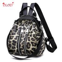 школьные сумки для леопарда оптовых-Bags for Women 2018 wild Backpacks Leathe Leopard Female Travel Backpack High Quality Women Bag School Bag Backpack Girl
