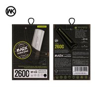 Wholesale ups bank - Remax WK 2600mAh Power bank Portable External Battery Charger for iphone 6 6s Samsung galaxy Remax Brand Power Bank UPS