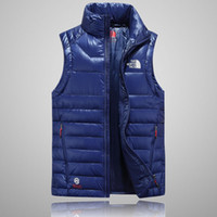 Wholesale down vest xxl - 2018 Men's Packable north Down vest outdoor Lightweight Jackets mens Water Repellent Puffer face vest m-xxl 505