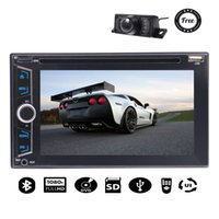 """Wholesale Vehicle Rear View Camera - Back Camera 6.2""""Double Din Car Stereo car DVD Player Bluetooth 1080P Car Radio Audio USB SD Vehicle Stereo Video CD Player"""