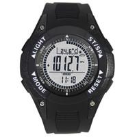 Wholesale weather barometers - Digital Compass Watch Altimeter Barometer Montre Thermometer Weather Watch Male Outdoor Clock relogio barometro