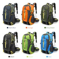 Wholesale rucksack outdoor laptop - 40L Waterproof Tactical Backpack Hiking Bag Cycling Climbing Backpack Laptop Rucksack Travel Outdoor Bags Men Women Sports Bag
