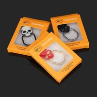 Wholesale car shaped phone holders for sale – best Available Skull Shape Ring Holder Cell Cool Phone Car Stand Fidget Colorful Multi Function Originality Rings Bracket xj ff
