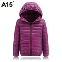 Wholesale size 16 clothing online - A15 Children Clothing Teenage Girls Winter Coats and Jackets Parkas for Girl Spring Kids Clothes Boys Down Size Year