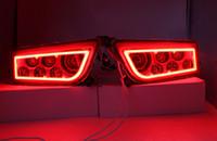 volle scheinwerfer großhandel-ATV Polaris Allgemein 1000 Led Scheinwerfer, Polaris RZR XP1000 / Turbo Voll Halo Angel Eyes LED Ersatz Scheinwerfer Kit