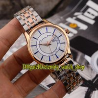Wholesale new vision for sale - Group buy Luxury HOUR VISION White Dial Japan Miyota Automatic Mens Watch Rose Gold Case L Steel Strap Watches