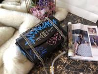 Wholesale hard glitter clutch bags for sale - Pink sugao shoulder bags messenger chain bag clutch designer handbags crossbody bag Graffiti famous designer women handbags luxury purses