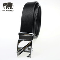 Wholesale cheap men wholesale clothing - YAXIANG 2018 NEW Belts Mens Belt Cheap Straps Large Size 2018 New High Quality Designer Casual 37Mm Clothing Apparel Waist Belt