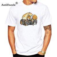 f3fcb519e09 Antidazzle 2017 men T Shirts Normal Elastic Guinea Pigs tshirt Clothing  Summer Short Sleeve Kawaii t-shirt men