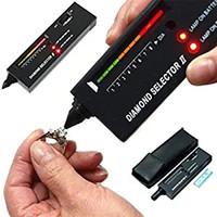 elmas testi toptan satış-DHL V2 Elmas Seçici Taş Tester Takı Testi Kalem hiçbir pil Sertlik Test Cihazları Fiziksel Ölçüm Aletleri