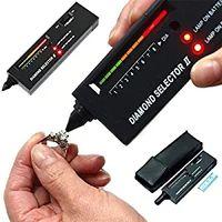probador de instrumentos de medición al por mayor-DHL V2 Selector de Diamante Piedra Preciosa Tester Joyería Prueba pluma sin batería Dureza Testers Física Instrumentos de Medición