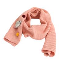 ingrosso sciarpe di modo della neonata-Sciarpa dei bambini per l'autunno Inverno Ragazzi ragazze Fashion Warm Long Sciarpe Baby Cartoon Fox sciarpa a maglia Comodi scaldacollo