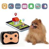 ingrosso collari di recinzione del cane-Collare impermeabile dell'inseguitore di GPS di GSM dell'animale domestico lungo di Standby per il cane Cat Geo-Fence Dispositivo di tracciamento della piattaforma dell'APP libero