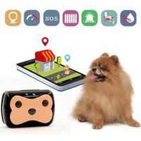 Wholesale gps geo fencing resale online - Long Standby Mini Pet GSM GPS Tracker Waterproof Collar for Dog Cat Geo Fence Free APP Platform Tracking Device