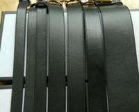 Wholesale Leather Cummerbund Belt - Free shipping designer belts mens belts Jeans Belt Cummerbund belts For men Women Metal Buckle 2.0   3.4   3.8 with original box
