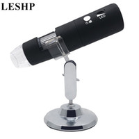 mini microscópio portátil venda por atacado-Mini Portátil 2MP HD Sem Fio WI-FI Microscópio Digital 50 ~ 1000X 8LED Microscópio Eletrônico Base Giratória Brilho Ajustável