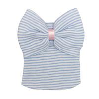 ingrosso berretto da neonati-New Autunno Inverno Baby Hat Big Butterfly nodo Carino Stripes Neonatale beanie bambino fotografia puntelli Neonati cappelli fetali