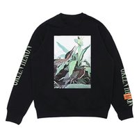 Wholesale High Turtleneck Sweater - HERON PRESTON Ulzzang High Quality Hoodies Mens Women Animal Print Letters Cotton Pullover Shirt Loose Sweater Lovers Hip Hop Street Style