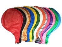 ingrosso ventilatori di carta rossa-36 pollici addensare palloncini sicuro rotondo naturale lattice aerostato decorazione della festa nuziale giocattoli gonfiabili wen6829