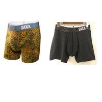 Wholesale Men Underwear Box - SAXX FIESTA Boxers Underwear -saxx underwear men boxer&NO BOX (North American Size) free shipping