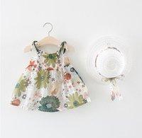 blumenartikel großhandel-Ins Blume Prinzessin Kleid Türkei Blume 1-4 Jahre heiße Gegenstände für 80-100cm schöne Baby Lace Party Sommer Saison feiern Geburtstagsfeier Kleid