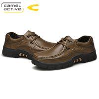 ingrosso caccia attiva-Cammello Active New Fashion Scarpe da uomo confortevoli scarpe da trekking impermeabili all'aria aperta con primavera e autunno caccia