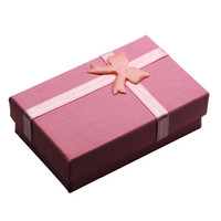 relojes de belleza al por mayor-OPPOHERE Beauty Jewellery Gift Box Colgante Caja Diaplay Para Anillo Pendiente Collar Reloj