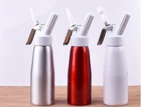 Wholesale Dessert Maker - Dispenser Whip Dessert ,Coffee ,Fresh Cream, Butter Dispenser Whipper Foam Maker Metal 500 ml