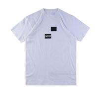 chemises logos d'impression achat en gros de-18FW Box Logo X des Tee Street Skateboard Hommes Tee Mode À Manches Courtes Casual Outdoor LOGO Imprimé T-shirts HFLSTX314HFLSTX315