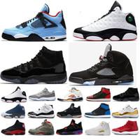 wholesale dealer baa22 7cf73 Nike Air Jordan Retro 5 cemento blanco negro metalizado rojo fuego azul  gamuza Bel Oreo 5s hombres mujeres zapatillas de baloncesto zapatillas EE.  UU. 7-13