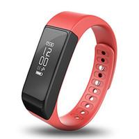 ingrosso sport pedometro senza fili-Nuovo I5 Plus Bluetooth Smart Sport Bracciale Wireless Fitness Pedometro Activity Tracker con passi Counter Monitoraggio del sonno Pacchetto Retail