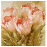 cruzes cor-de-rosa bonitas venda por atacado-2018 bela diy 5d planta diamante pintura sala de estar quarto ponto cruz mosaico romântico flor rosa pintura diamante presentes