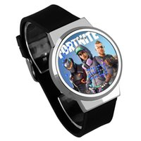 Wholesale back electronics for sale - Game Fortnite Cartoon LED Watch Fashion Teenager Electronic Luxury Wrist Watches For Kids Party Favor High Quality qy KK