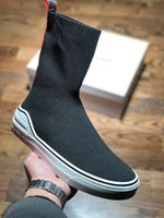 Wholesale high quality girls socks - Free shipping high-quality Give Chy 18S High Gang spring and summer new functional sneaker shoes Girl Women's Men's socks shoes with box